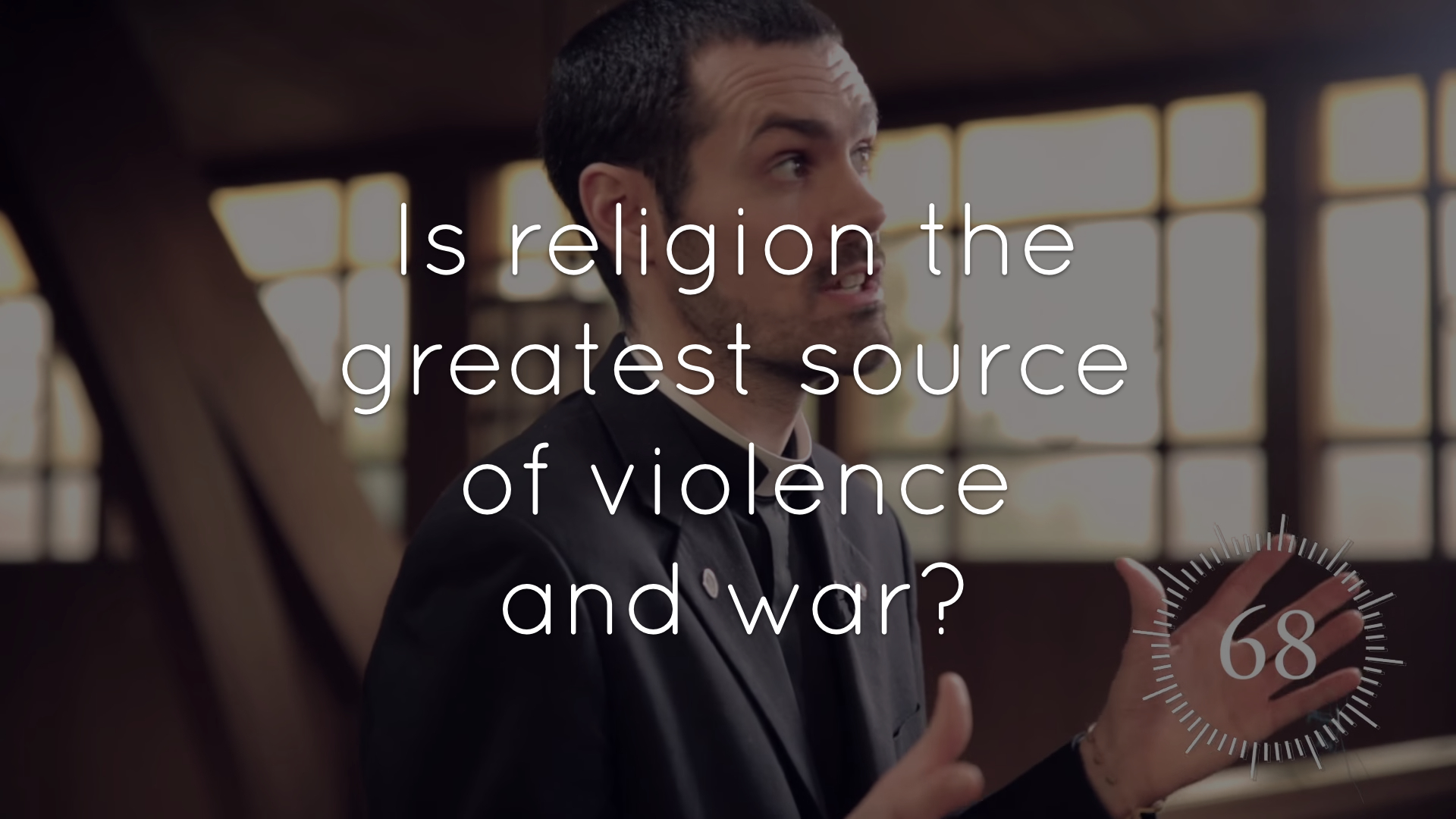 Is religion the greatest source of violence and war?