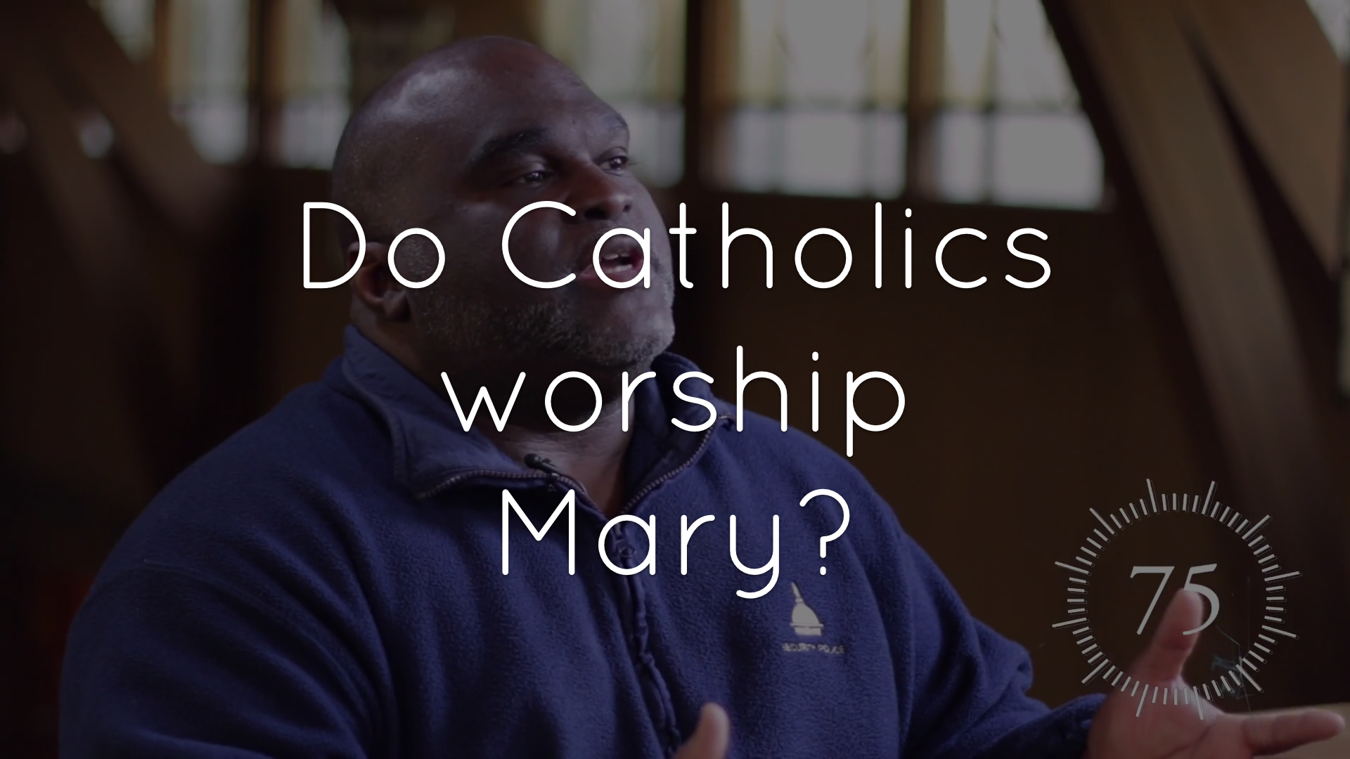 Do Catholics worship Mary?