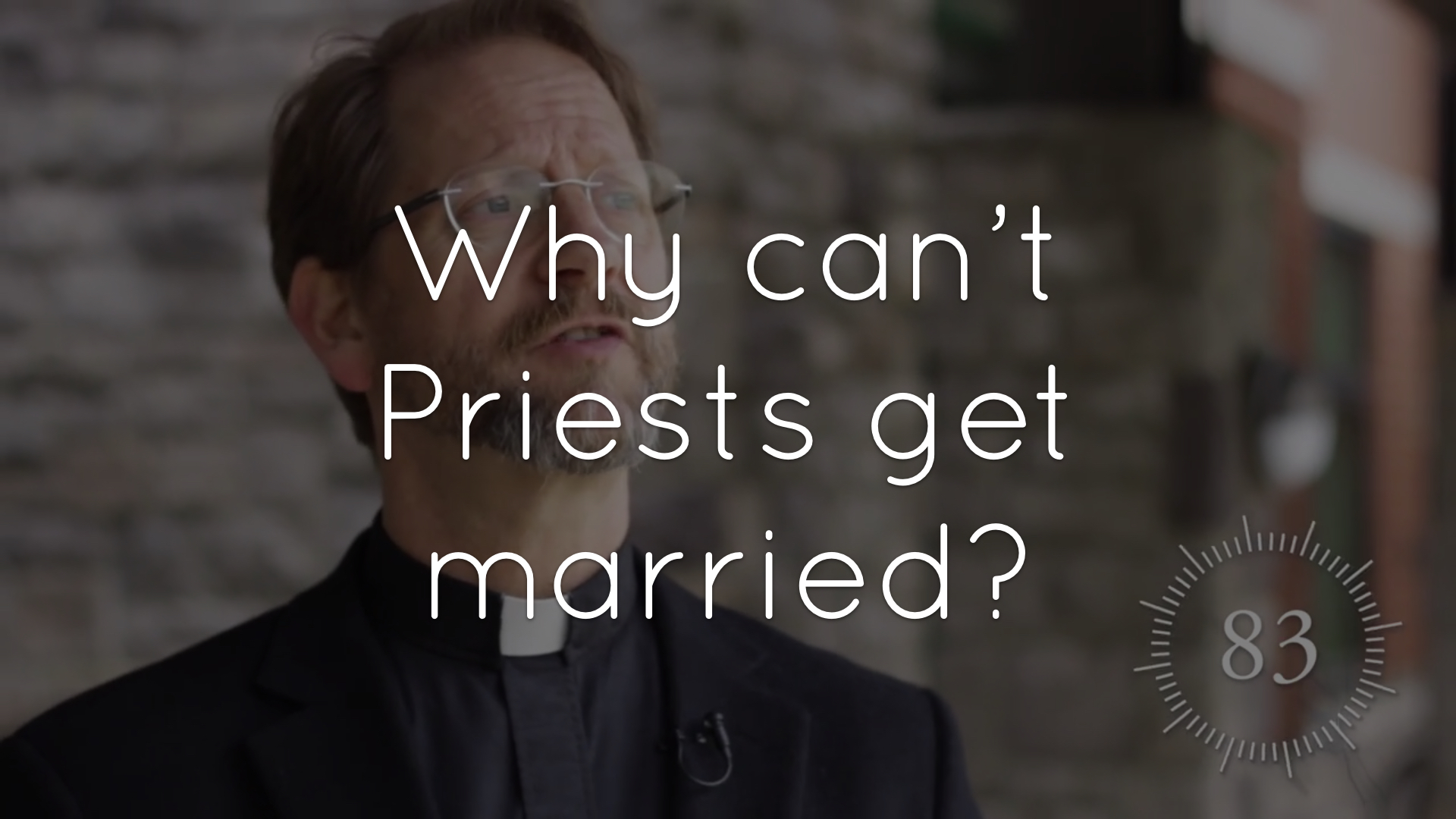 Why do priests take vows of celibacy instead of marrying?