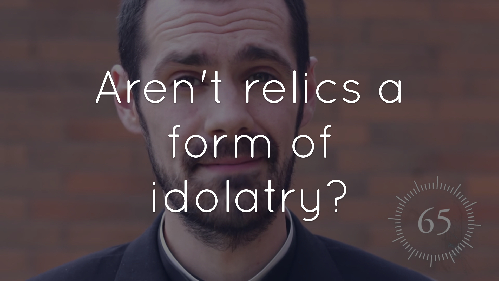 Are relics false idols in the Catholic Church?